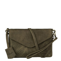 Burkely Hunt Hailey X-Over S Flap Olive Green 539329