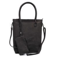 Zebra Trends Natural Bag Kartel Suedine Black 552201