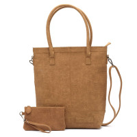 Zebra Trends Natural Bag Kartel Rits XL Croco Camel 552203