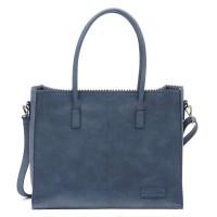 Zebra Trends Natural Bag Lisa Jeans Blue 557703