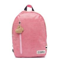 Zebra Trends Kinder Rugzak M Croco Pink