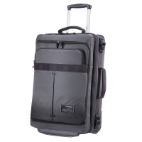 Samsonite Cityvibe Laptop Duffle Wheels Expandable 55 Ash Grey