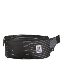 The Pack Society The Bum Bag Black Stripe Allover