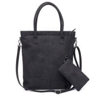 Zebra Trends Natural Bag Kartel Rits Fearless Black 600077