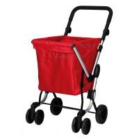 Playmarket We Go Boodschappentrolley Red