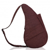 The Healthy Back Bag The Classic Collection Textured Nylon M Dark Chocolate