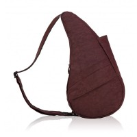 The Healthy Back Bag The Classic Collection Textured Nylon S Dark Chocolate