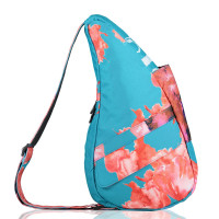 The Healthy Back Bag The Classic Collection Textured Nylon S Tropical Oasis