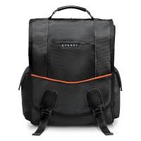 """Everki Urbanite Vertical Laptop Messenger 14.1"""" Black"""