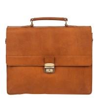 Burkely Vintage Dean Briefcase 3 Cognac 637922