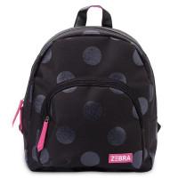 Zebra Trends Girls Rugzak Glitter Dots Black