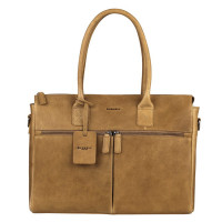 "Burkely Antique Avery Laptopbag 15.6"" Taupe 698856"