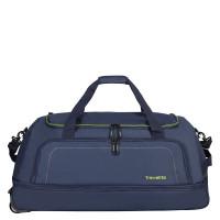 Travelite Basics Wheelbag Reistas Foldable In Bag Navy/Lemon