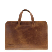 "Plevier Business/ Laptopsleeve tas 1-Vaks 15.6"" Cognac 704"