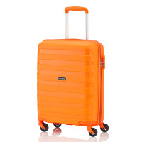 Travelite Nova 4 Wheel Trolley S Orange