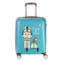 Travelite Lil Ledy 4 Wheel Trolley S Turquoise