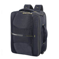 Samsonite 4Mation 3-Way Shoulder Bag Expandable Midnight Blue/ Yellow
