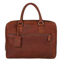 "Burkely Antique Avery Laptopbag 13.3"" Cognac 798156"