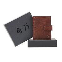 Castelijn & Beerens Giftbox Mini Wallet Cognac