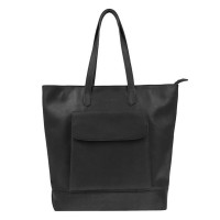 DSTRCT Riverside Shopper XL Front Pocket Black