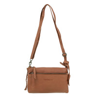 DSTRCT Hyde Park Cross-body schoudertas Cognac 161230