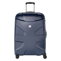 Titan X2 Flash 4 Wheel Trolley L Navy