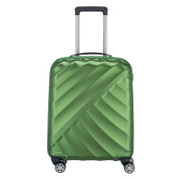 Titan Shooting Star 4 Wheel Cabin Trolley S Green