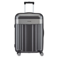 Titan Spotlight Flash 4 Wheel Trolley M Anthracite
