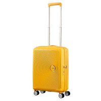 American Tourister Soundbox Spinner 55 Exp. Golden Yellow