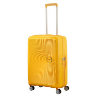 American Tourister Soundbox Spinner 67 Exp. Golden Yellow