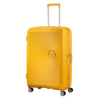 American Tourister Soundbox Spinner 77 Exp. Golden Yellow