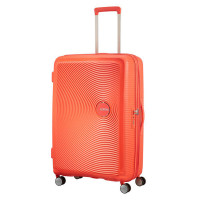 American Tourister Soundbox Spinner 77 Exp. Spicey Peach