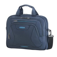 "American Tourister AT Work Laptop Bag 15.6"" Midnight Navy"