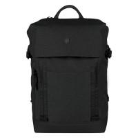 Victorinox Altmont Classic Deluxe Flapover Laptop Backpack Black