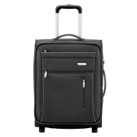 Travelite Capri 2 Wheel Trolley S Expandable Black