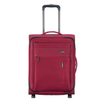 Travelite Capri 2 Wheel Trolley S Expandable Red