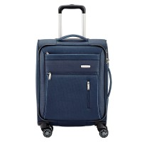 Travelite Capri 4 Wheel Trolley S Navy