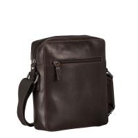 Leonhard Heyden Dakota Messenger Bag XS Brown 7485