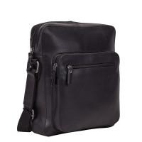 Leonhard Heyden Dakota Messenger Bag S Black 7486