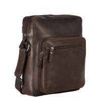 Leonhard Heyden Dakota Messenger Bag S Brown 7486