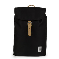 The Pack Society The Small Backpack Solid Black