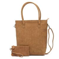 Zebra Trends Natural Bag Kartel Rits Croco Camel 552203