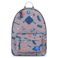 Parkland Bayside Kids Backpack Patches Retro