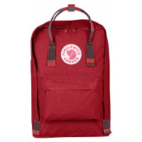 "FjallRaven Kanken Laptop 17"" Rugzak Deep Red/Random Blocked"