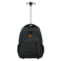Travelite Basics Trolley Backpack Melange Anthracite