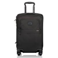 Tumi Alpha 2 International 4-Wheel Office Carry-On Black