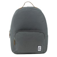 The Pack Society The Classics Rugzak Solid Charcoal