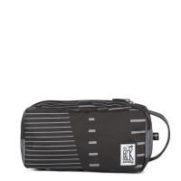 The Pack Society Multi Case Toilettas Black Stripes Allover