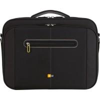 """Case Logic PNC218 18"""" Laptop Briefcase Black"""