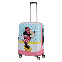 American Tourister Wavebreaker Disney Spinner 67 Minnie Pink Kiss